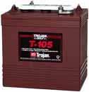 Trojan T-105 Golf Cart battery