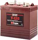 Trojan T-125 Golf Cart battery