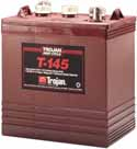 Trojan T-145 Golf Cart battery