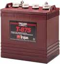 Trojan T-875 Golf Cart battery