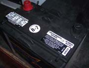 Mazda Miata Battery for 1990 and on.